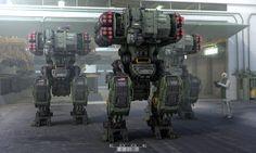Project EDGE- Heavy Unit by Fausto De Martini | Sci-Fi | 3D | CGSociety