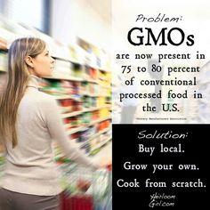 Avoid GMO Food
