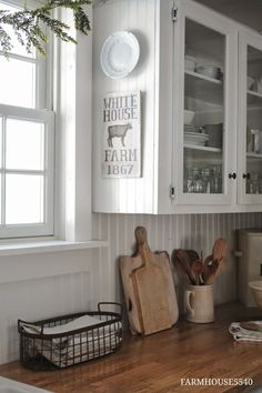 FARMHOUSE 5540: how she cares for Ikea butcher block counter tops (my new kitchen obsession)