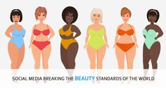 Social media breaking the beauty standards of the world. let's ponder upon how has the social media broke the general beauty standards and what is trending in beauty now. Yellow Bathing Suit, Girls Bathing Suits, Social Media Break, Black Underwear, Beautiful Black Girl, Full Figure Fashion, Blonde Women, Full Figured, Women Swimsuits