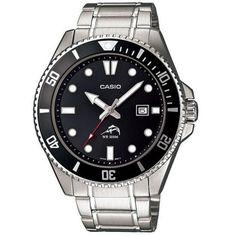 Casio Serie limitée Mdv-106D-1a1 montre de la famille duro étanche 200 mètres spéciale plongée avec dateur boitier et bracelet 100% acier Achat / Vente Montre Analogique Quartz pas chère - RueDuCommerce