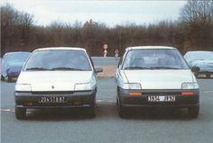 OG | 1990 Renault Clio MK1 - Project X57 | Giugaro / Ital Design vs Internal Studio B proposals.