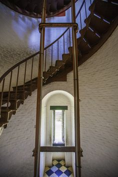 Inside the Cape Hatteras Lighthouse