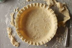 Pie Crust Tutorial: A pictorial step-by-step tutorial to make the perfect pie crust from scratch.