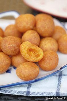 Fried Thai Sweet Potato Balls