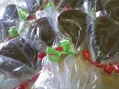 Pirulitos de chocolate 🍭🍭🍭