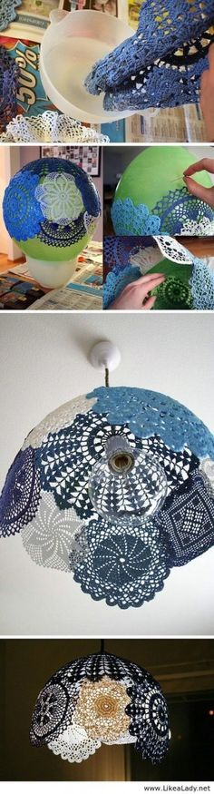 Great Home DIY Ideas Using Lamps 11