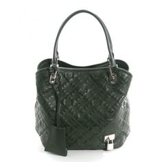 Louis Vuitton Bronze Lambskin Lilia Antheia GM Tote Bag, Rare