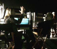 norbuck: Jennifer Morrison is a devoted enthusiastic cinephile like myself. And she is an incredible filmmaker in her own right. Here we are, talking about our favorite films during a #OnceUponATime lighting setup last night.