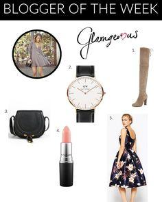 This week's #BloggeroftheWeek is Camilla Sentuti of Glamgerous! #Blogger #BloggerLove