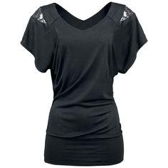 Laced Shoulder  T-Shirt  »Laced Shoulder« | Jetzt bei EMP kaufen | Mehr Casual Wear  T-Shirts  online verfügbar ✓ Unschlagbar günstig!