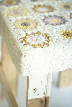 wood & wool stool moon - wood & wool stool, flickr