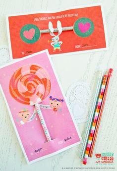 free valentine's printables at happy happy art collective #valentine #printable #illustration