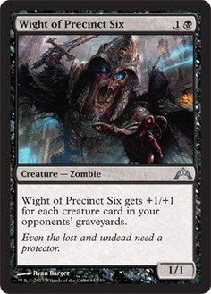 Magic: the Gathering - Wight of Precinct Six (84) - Gatecrash