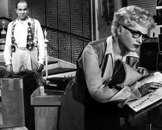 """SURPRISING HOLLYWOOD FACTS:    Oscar winning actress, JUDY HOLLIDAY brilliantly portrayed the image of a """"dumb blonde"""" in BORN YESTERDAY (1950). However, in real life Judy was so bright in school, she was tested and got an IQ score of 172, which places her intelligence above the 99 percentile."""