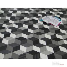 Interessant PVC Fussboden Tarkett 280T | Chesstone Black 4m Bodenbeläge PVC  SW49