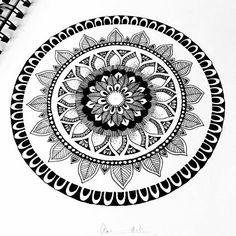 Lovely doodle from @ankita.jpeg - #doodle for #days #mandala