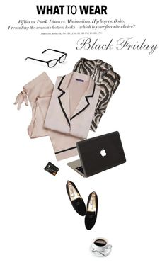 """PJ's for me!"" by maura717 ❤ liked on Polyvore featuring Corinne McCormack, Roberto Cavalli, H&M and Valentine Goods"