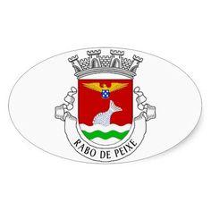 Rabo de Peixe* Azores Euro-style Sticker