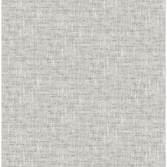 Designed to resemble woven fabric, this peel and stick wallpaper has a chic feel. Raised ink details add to its realistic look. Grey Poplin Texture Peel and Stick Wallpaper contain 1 piece on 1 sheet that measure 216 x in.
