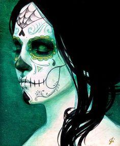 more sugar skull makeup ideas
