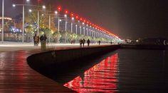 Μαγεύει όλο τον κόσμο η νέα παραλία Θεσσαλονίκης. Οι 12 διεθνείς διακρίσεις! Macedonia Greece, Thessaloniki, City, Beautiful, Google, Cities