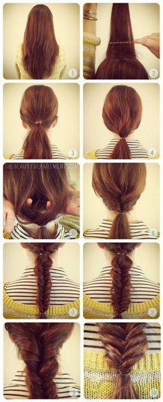 Cosas de Chicas: ♥♥ Peinados fáciles regreso a Clases ♥♥