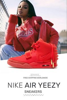 7585ad0d6f09f How to get New Nike Air Yeezy PS Red October sneakers online