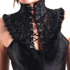 Lace Corset Neck | Crazyinlove UK