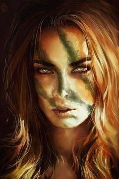 Aela the Huntress by LoranDeSore