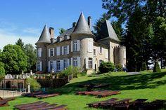 Chateau le Mialaret au Domaine de Mialaret, a 44 hectare large estate with chalets, safaritents and **** campsite www.lemialaret.com