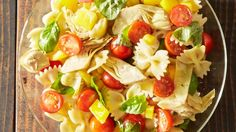Tomato Basil Pasta Salad Recipe - Allrecipes.com