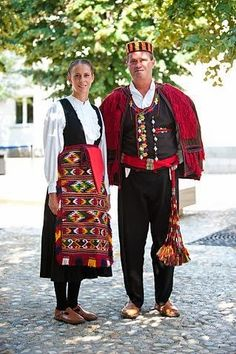 FolkCostume&Embroidery: Overview of Croatian Costume part 3; Mountain or Dinaric Zone
