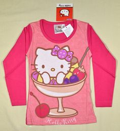 1950 Ft. (ÚJ)    Pulóver - rózsaszín, Hello Kitty-s, ÚJ Lany, Hello Kitty, Graphic Sweatshirt, Sweatshirts, Sweaters, Fashion, Moda, La Mode, Pullover