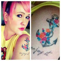 anchor tattoo | Tumblr