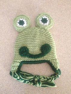 Crochet Frog  by AllCrochetCreations on Etsy, $18.00