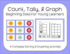 Count, Tally, & Graph - aligned to kindergarten Common Core math