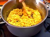 Alton Brown's mac-n-cheese...looks light and tasty!