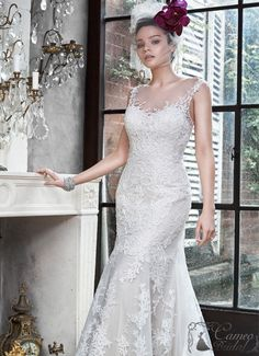 Maggie Sottero Designer wedding dresses and bridal gowns Irish Wedding Dresses, Fit And Flare Wedding Dress, 2015 Wedding Dresses, Perfect Wedding Dress, Wedding Attire, Bridal Dresses, Lace Wedding, Wedding Gown Gallery, Sottero And Midgley Wedding Dresses
