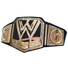 WWE Championship Replica Title Belt - WWE Shop $449.99 Wwe Championship Belts, World Heavyweight Championship, Paul Bearer, Wwe Party, Wwe Belts, Men's Wrestling, Best Wrestlers, Wwe Tna, Wwe World