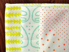 flour sack tea towels. $28.00, via Etsy.