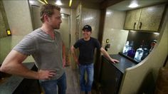 Justin Moore gives host Drew Waters the official tour. See MORE celeb motor homes here>> http://www.greatamericancountry.com/shows/celebrity-motor-homes?soc=pinterest
