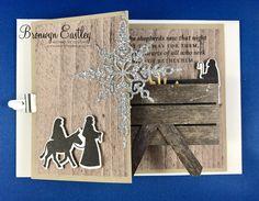 Child of Bethlehem Pop-Up, Z-Fold Card