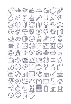 Unigrid Icons Free (337 KB) | tutorialstorage.com