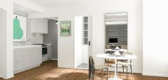White Kitchen #smallspaces