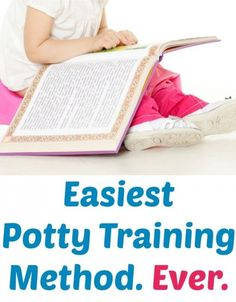 Easiest potty training ever