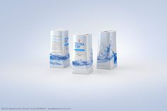 Packaging 3D model of TetraPak Tetra Top Midi 330ml with Huron