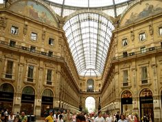 Galleria Vittorio Emanuele II Piazza del Duomo, Milan, Italy As featured in 3 days in Milan Inside the Galleria Vittorio Emanuele II, Milano, Italia Ranked of 348 attractions in Milan Galleria Vittorio Emanuele Ii, Italy Tourism, Milan Hotel, Italy Images, Honeymoon Places, Exotic Places, Beautiful Buildings, Wonders Of The World, Travel Photos