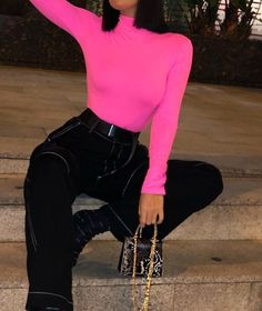 ριntєrєѕt: үαsмιη к.ღ vsco:theya Neon Outfits, Edgy Outfits, Mode Outfits, Summer Outfits, Fashion Outfits, Fashion Trends, Fashion Killa, Look Fashion, Girl Fashion