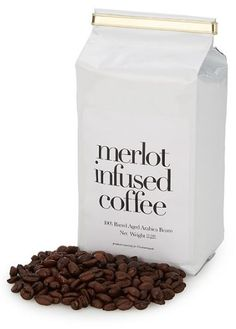 Merlot infused coffee